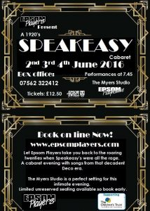 Speakeasy June 2016