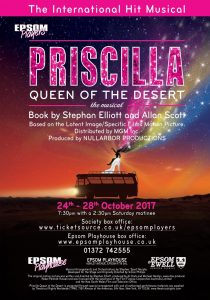 Priscilla Queen of the Desert Autumn 2017