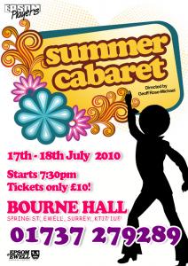 Summer Cafe Cabaret July 2010