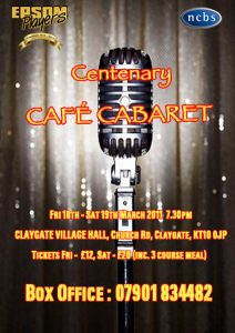 Centenary Cafe Cabaret March 2011