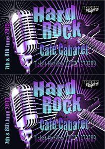 Hard Rock Cafe Cabaret June 2013