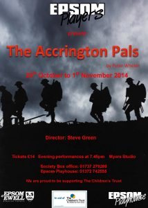 The Accrington Pals October 2014